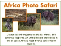 Specialty Item: South African Photo Safari