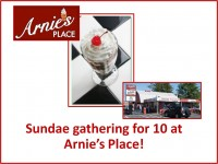 Specialty Item:Sundae Party for 10 at Arnie's Place!