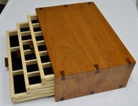 Specialty Item: Handcrafted Rosewood Jewelry Box