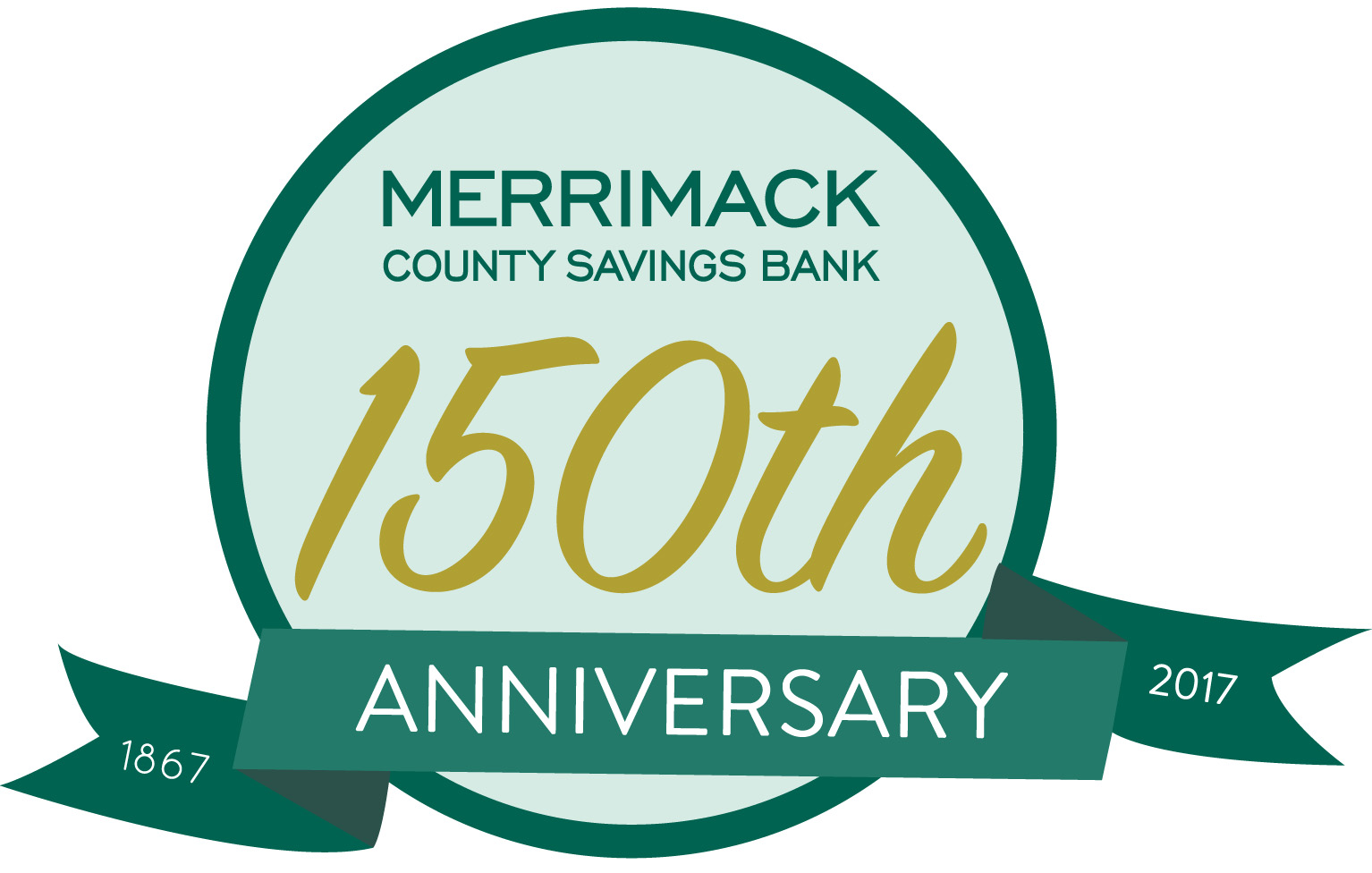 Merrimack 150th Logo